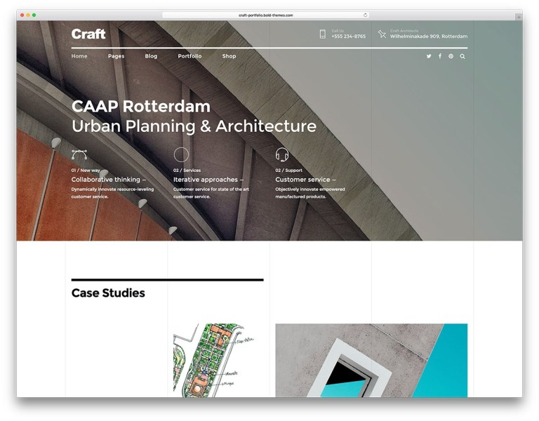 wordpress themes for architects firms