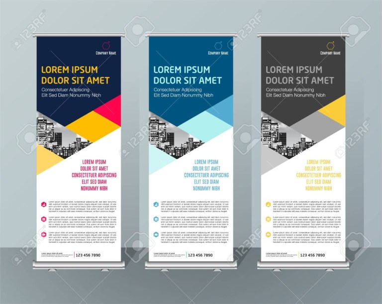 banner signboard advertising brochure