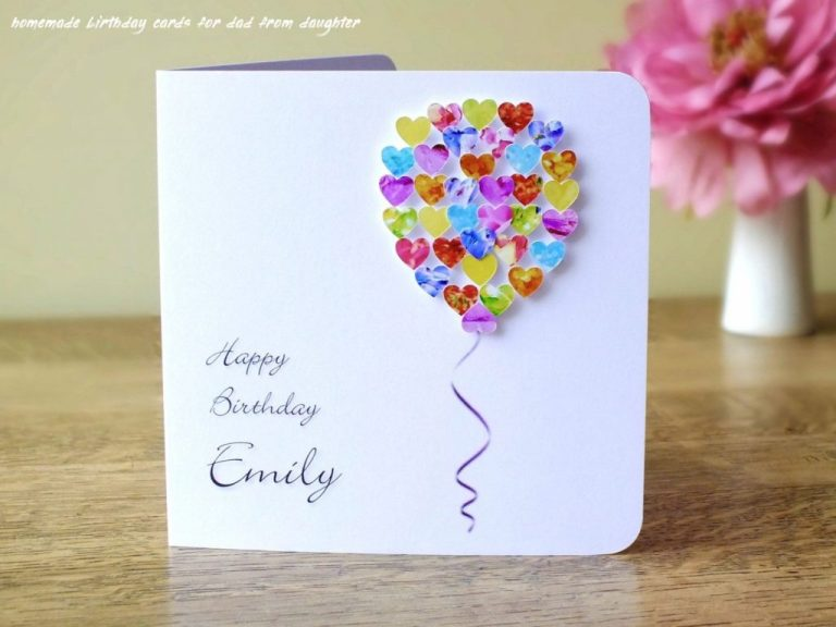 handmade greeting cards for dads birthday archives cards