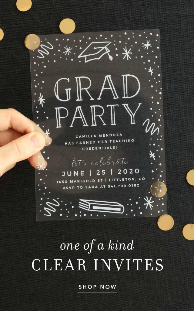 2021 graduation party invitations super cute easy to