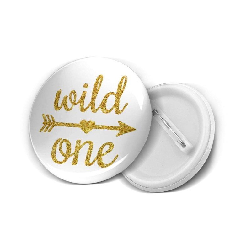amazon wild one gold glitter 1st birthday multipack