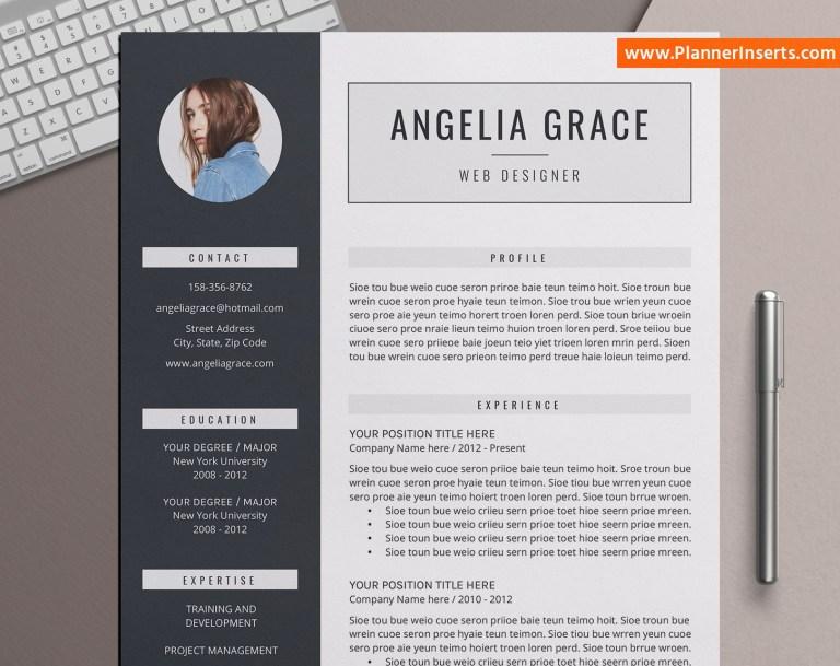 editable professional resume template office word resume