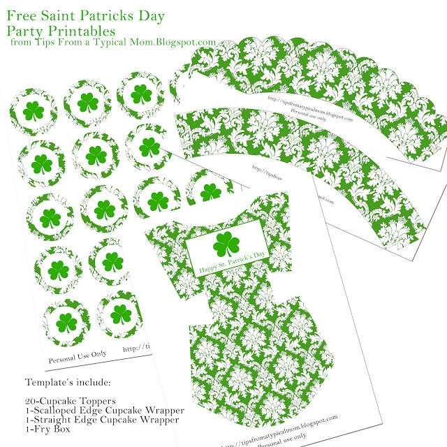 free saint patricks day party template printables tips