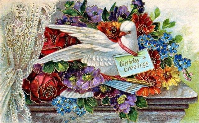 free vintage birthday cards vintage holiday crafts