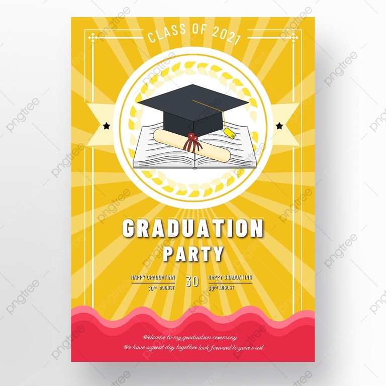 graduation invitation png images vector and psd files