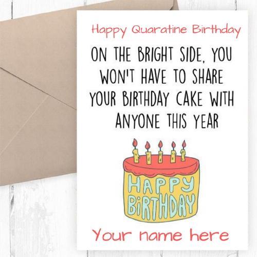 happy birthday wishes to friend in lockdown birthday