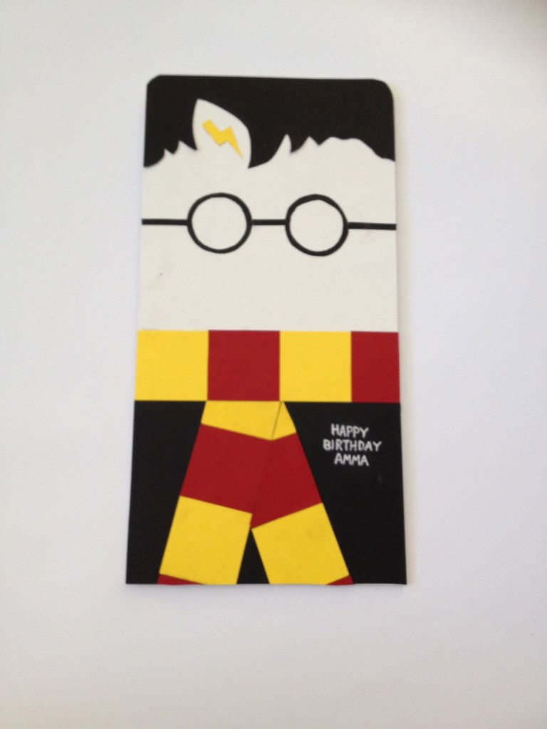 harry potter themed birthday cards page 1 line17qq