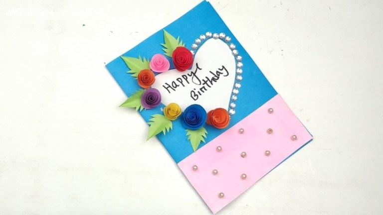 how to make handmade birthday cards for friends handmade
