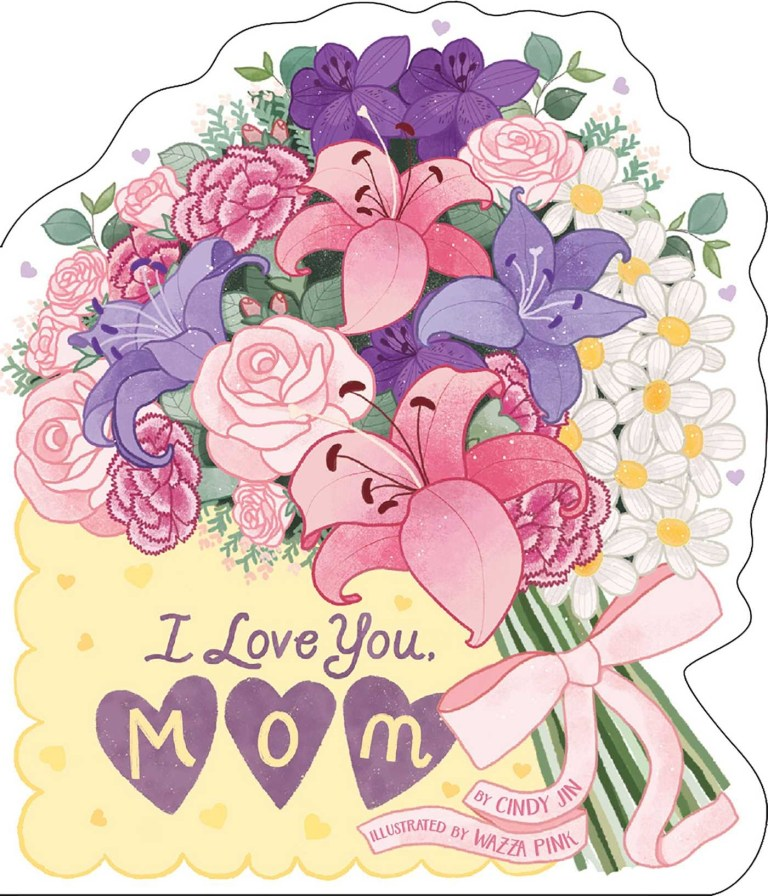 i love you mom book cindy jin wazza pink official