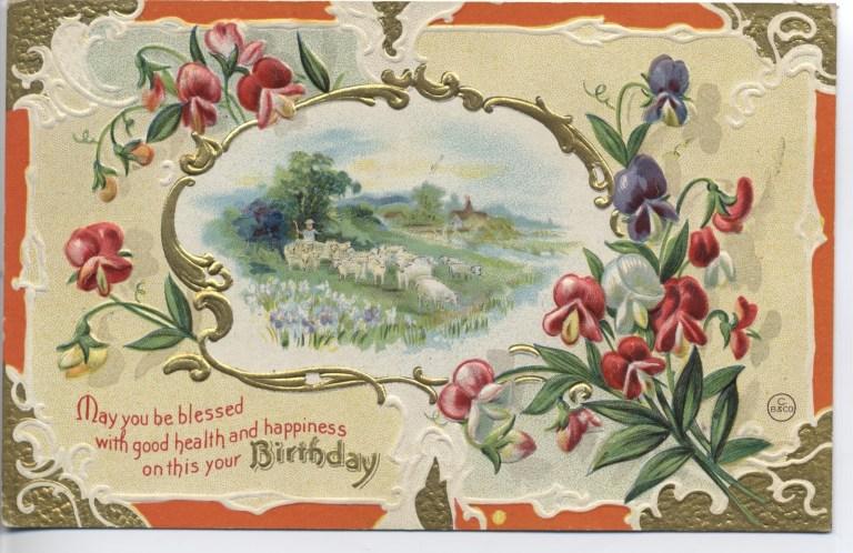 postcards etc happy birthday