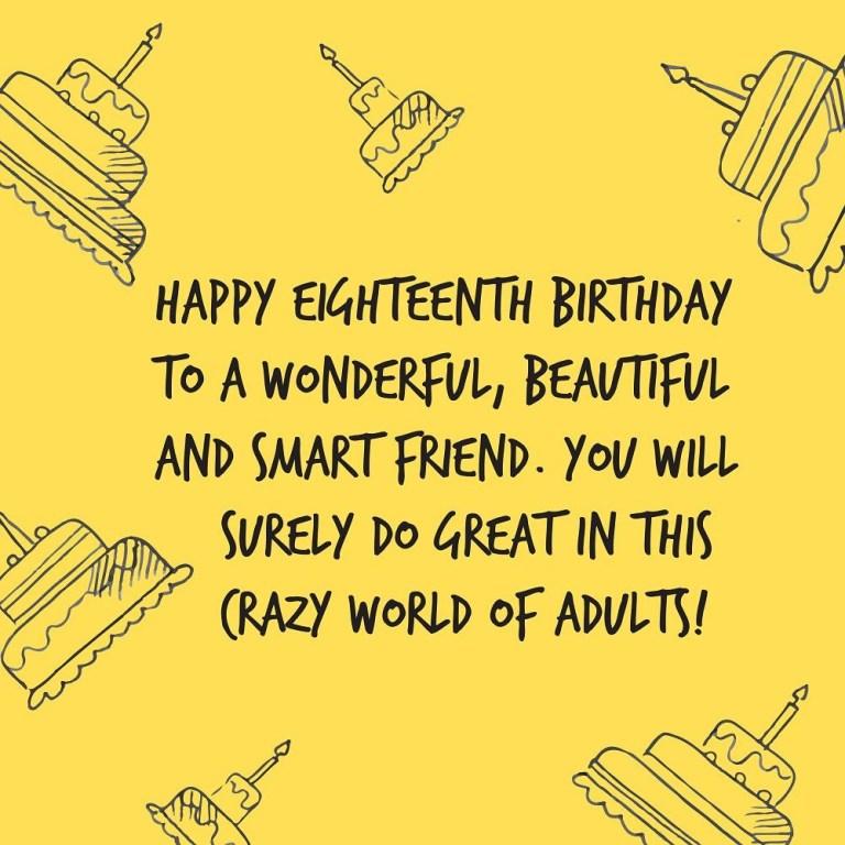 sweet happy 18th birthday wishes top happy birthday wishes