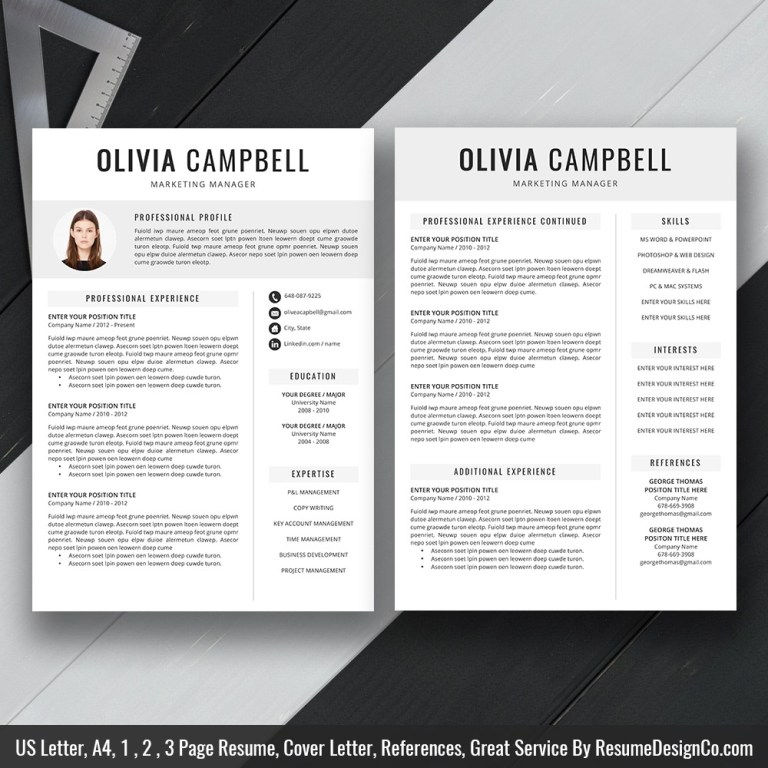 teacher resume template ms word simple and modern resume