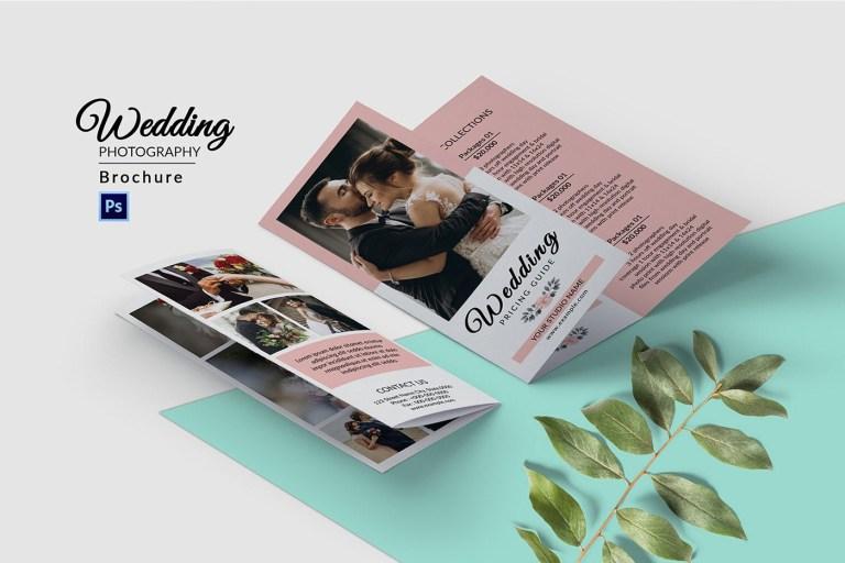 wedding photography brochure template on behance
