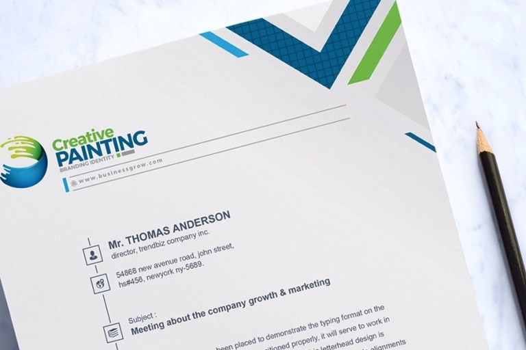 5 things your letterhead design must include law