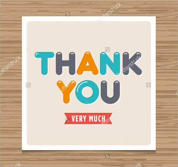 6 diy thank you cards design templates free