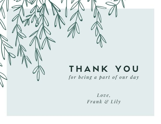 customize 397 thank you card templates online canva