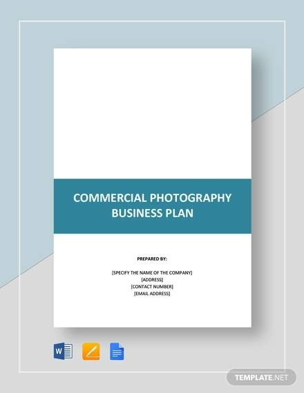free 11 sample photography business plan templates in pdf