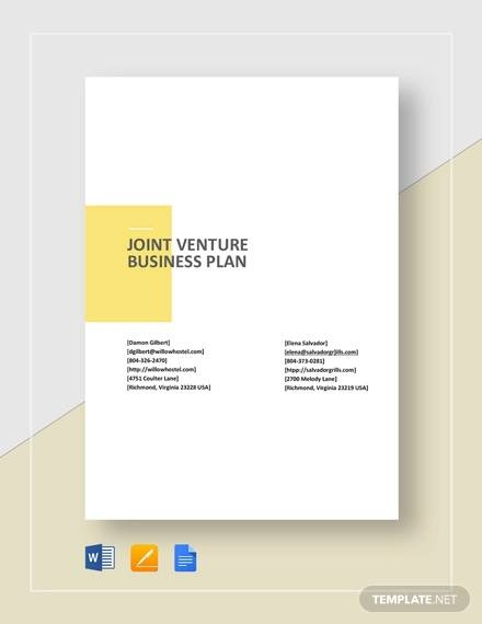 free 32 business plan templates in google docs ms word