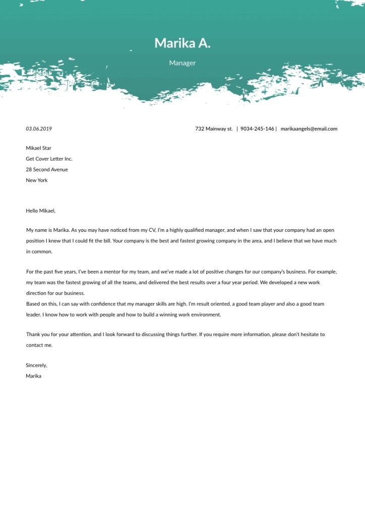 proofreader cover letter sample template 2020