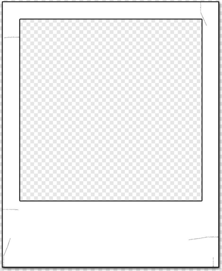 Simple polaroid template