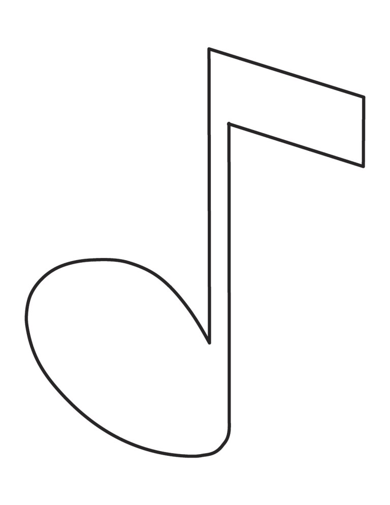 Music Coloring Pages For Kids