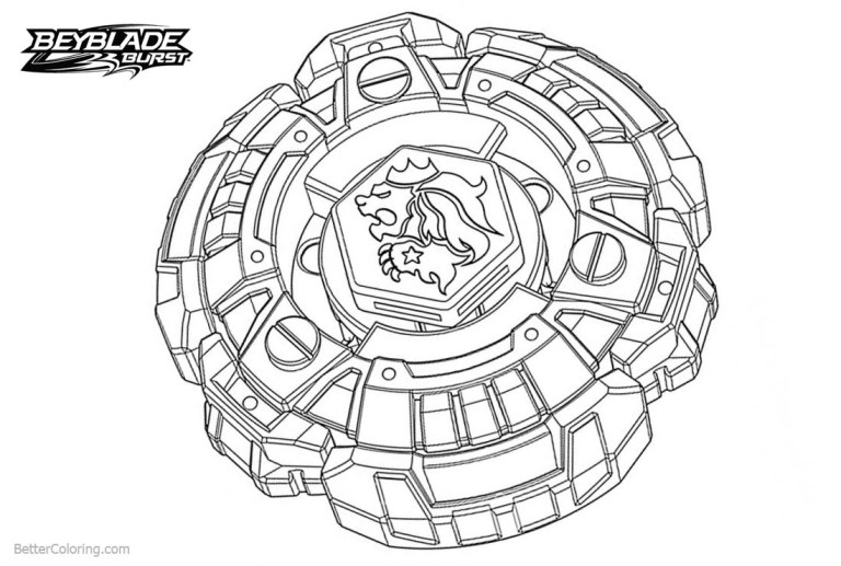 Best Beyblade Coloring Pages