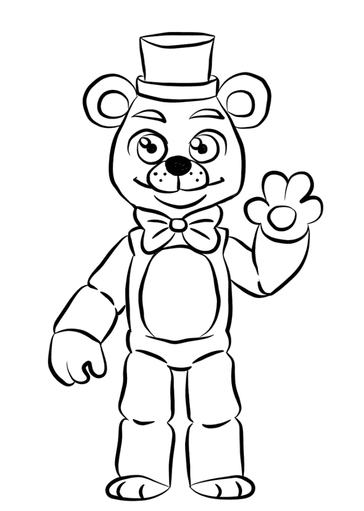 Fnaf Coloring Pages To Print