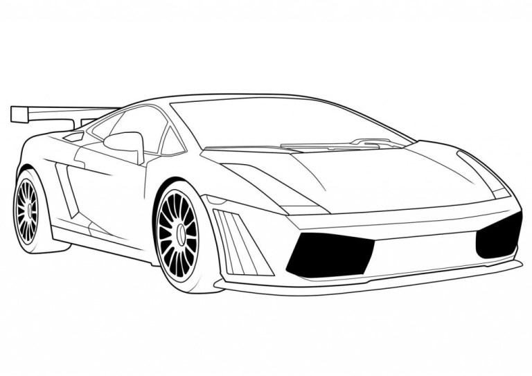 Car Coloring Pages Gallery