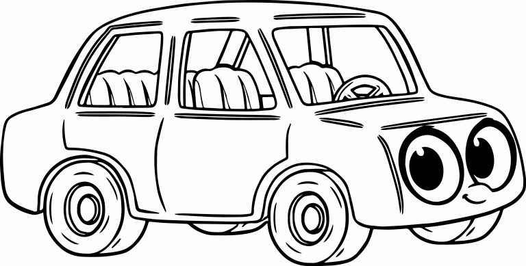 Car Coloring Pages Ideas