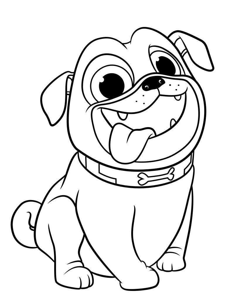 Dog Coloring Pages Collection