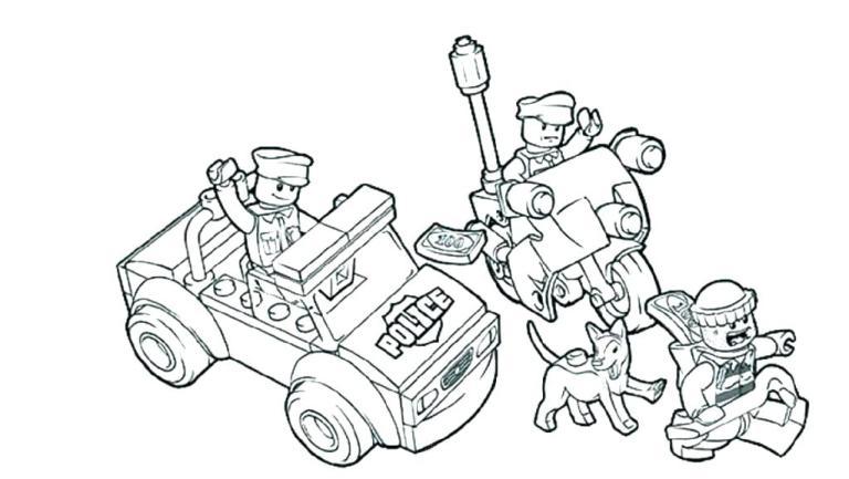 Police Lego Team