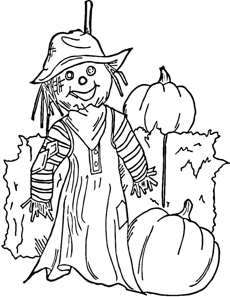 Scarecrow Coloring Online