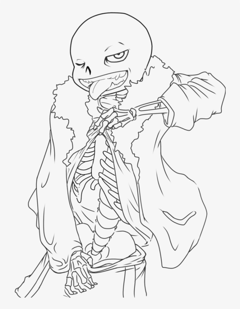 Undertale Coloring Pages Printable