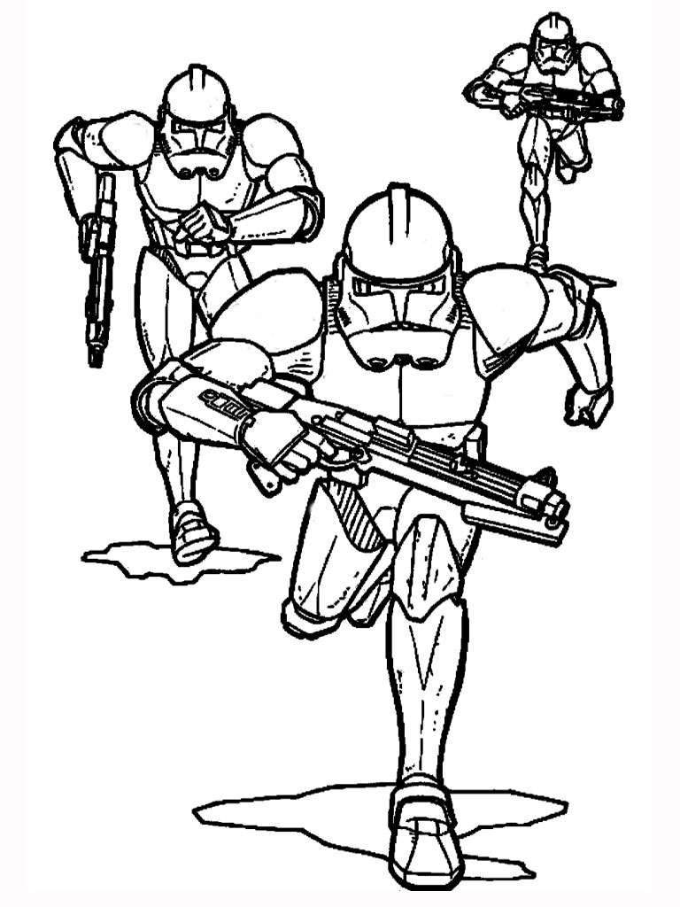 coloring pages of star wars