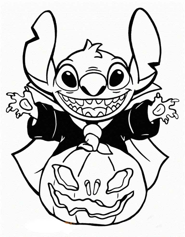 disney halloween coloring pages printable online