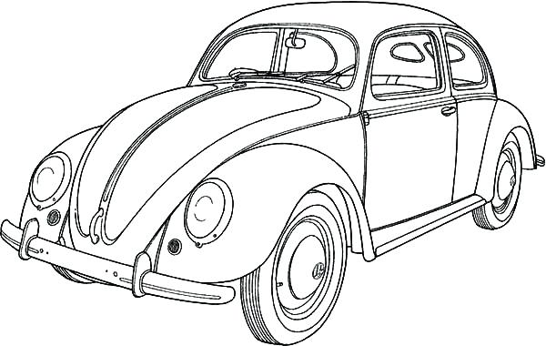 old Car Coloring