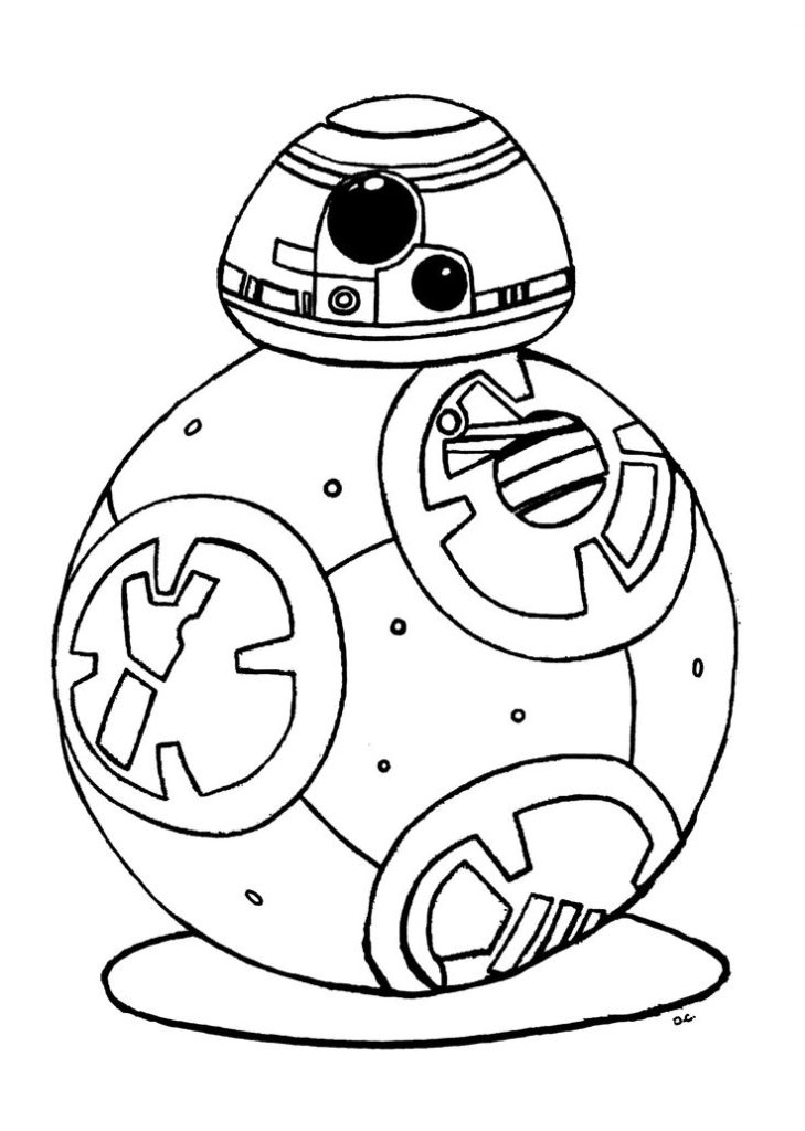 star wars characters coloring pages