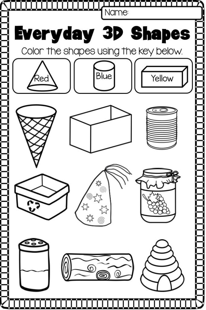 3d Coloring Pages To Print