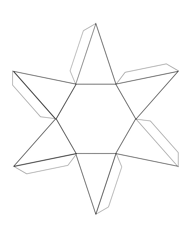 3D shape nets page learning printable
