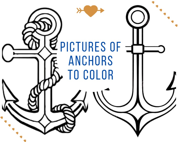 Pictures of Anchors to Color