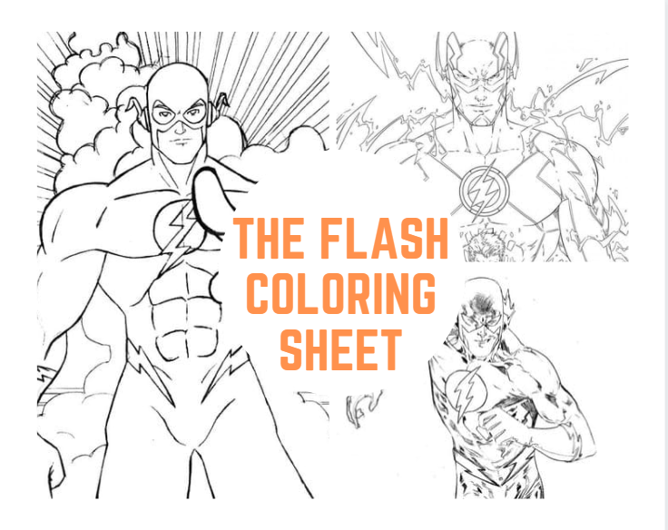 The Flash Coloring Sheet