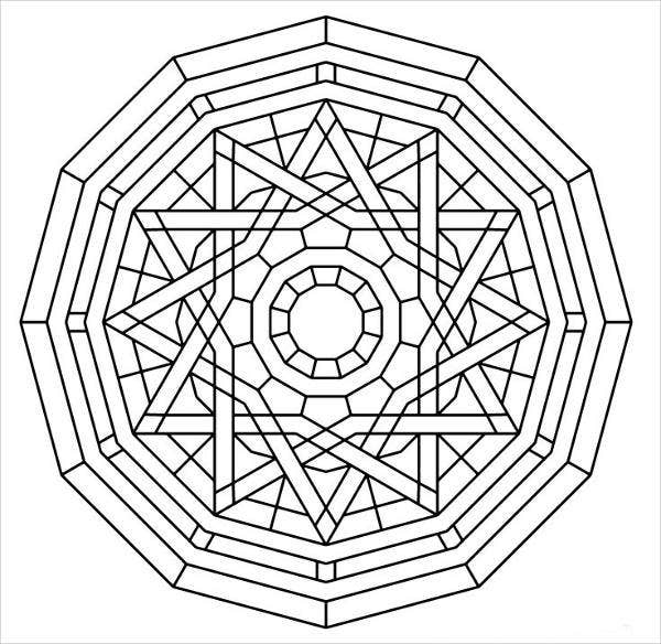 Abstract Coloring Pages For Kids templates