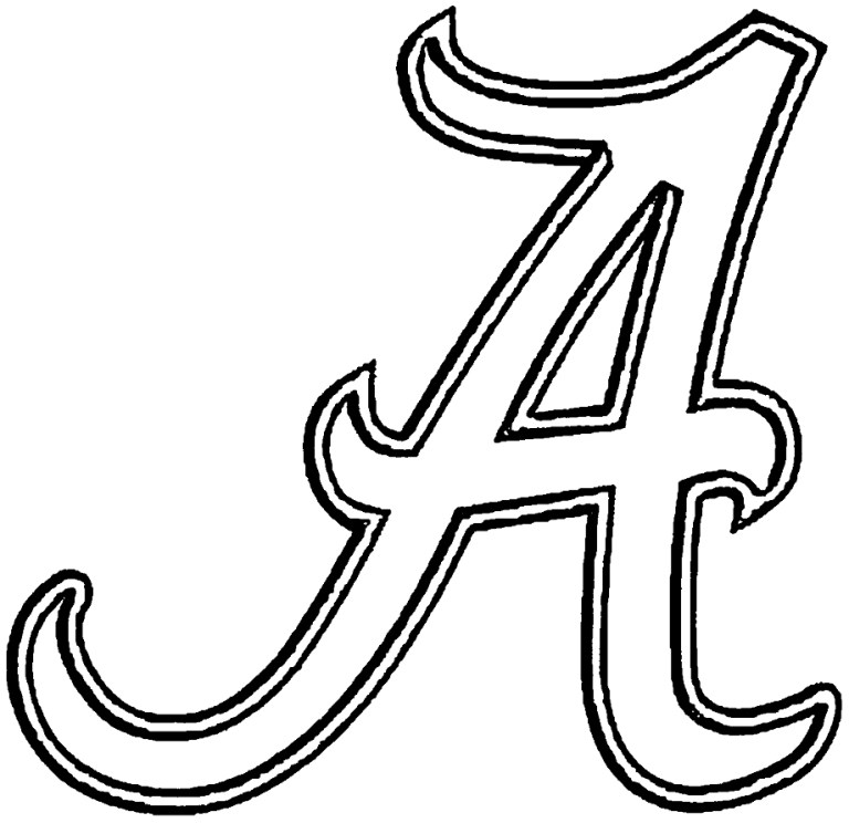 Alabama Coloring Pages Printable