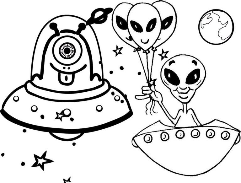 Alien Coloring