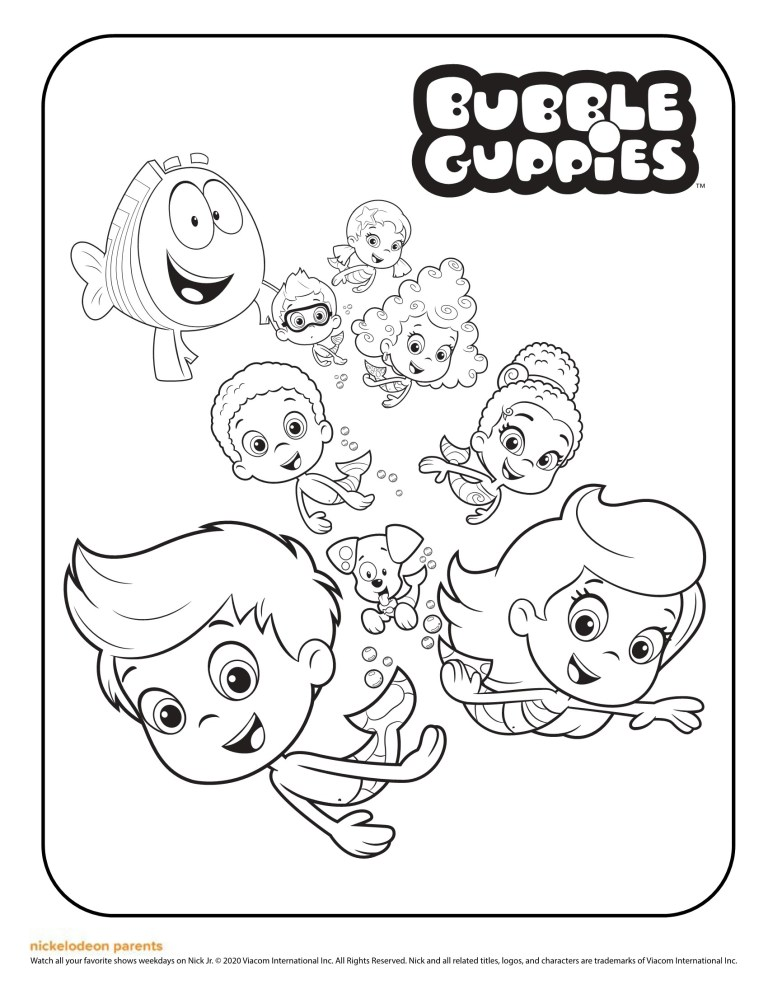 all characters Bubble Guppies