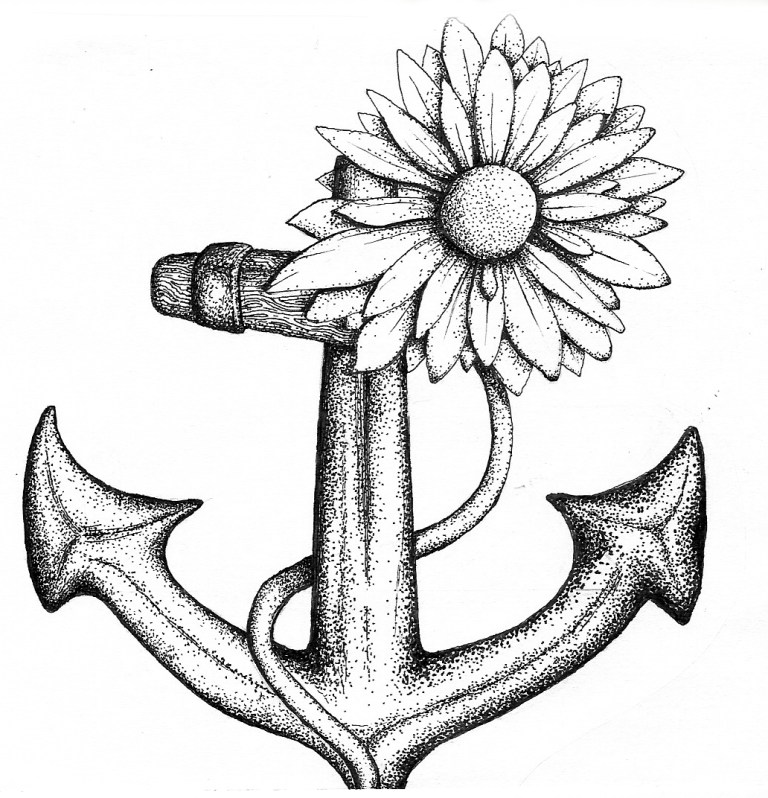 Anchors Coloring Pages