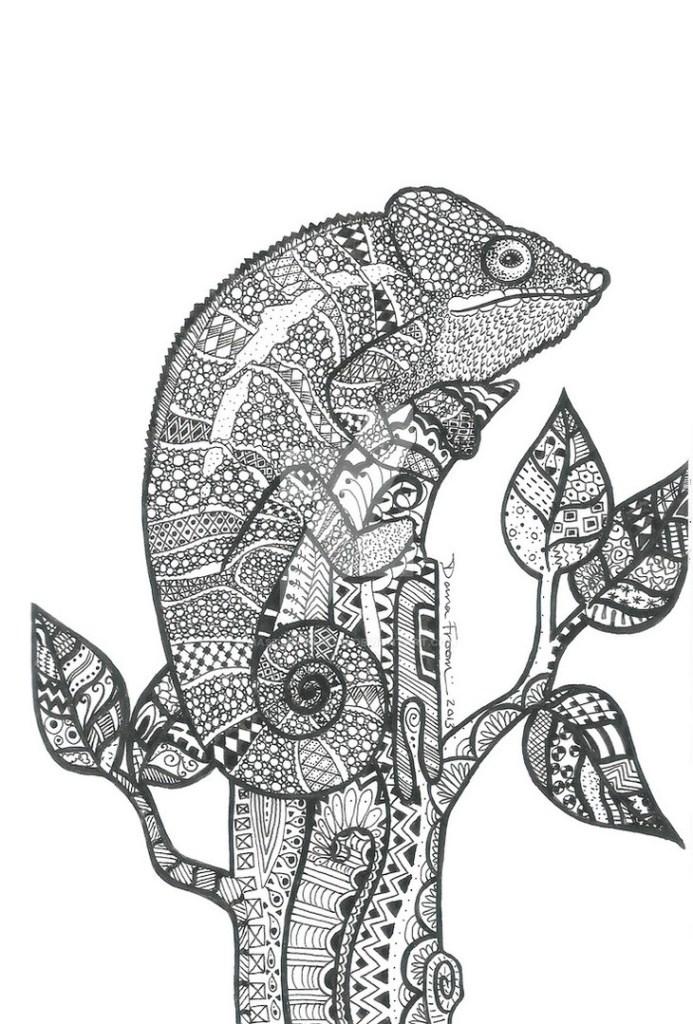 animal mandala coloring pages printable