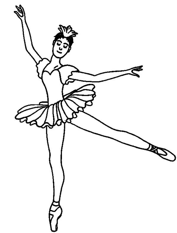 Ballerina Printable