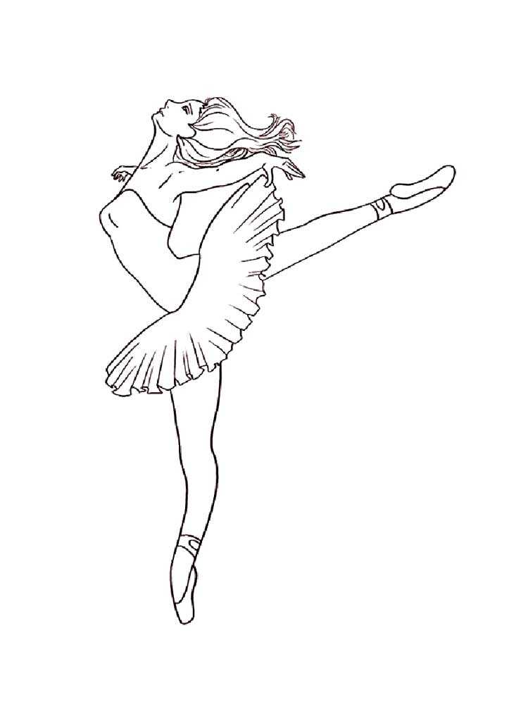 Ballet Coloring Pictures