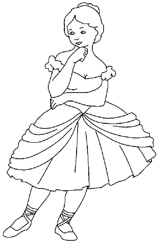 Ballet Coloring Sheet
